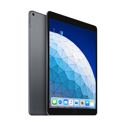 "Apple iPad Air 10.5"" (2019), Wi-Fi, 256GB, Space Gray MUUQ2FD/A"