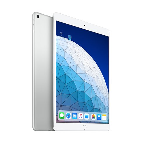 "Apple iPad Air 10.5"" (2019), Wi-Fi + Cellular, 256GB, Silver MV0P2FD/A"