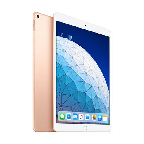 "Apple iPad Air 10.5"" (2019), Wi-Fi + Cellular, 64GB, Gold MV0F2FD/A"