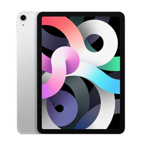 """Apple iPad Air 10.9"""" (2020), Wi-Fi + Cellular, 256GB, Silver MYH42FD/A"""