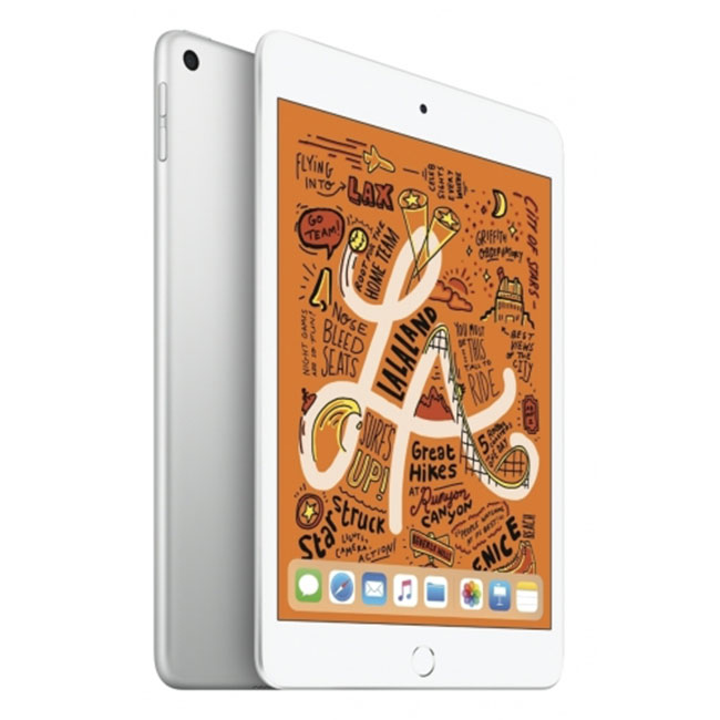 Apple iPad Mini (2019), Wi-Fi + Cellular, 256GB, Silver MUXD2FD/A
