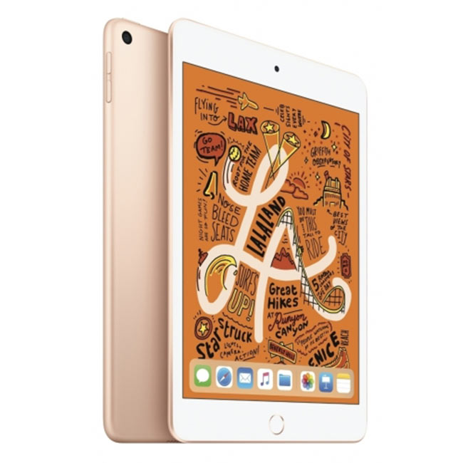 Apple iPad Mini (2019), Wi-Fi + Cellular, 64GB, Gold MUX72FD/A