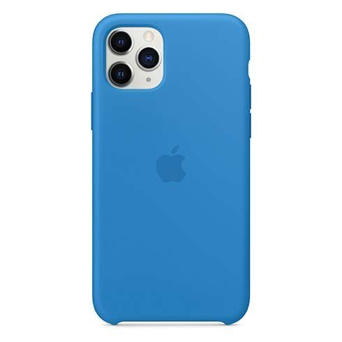 Apple iPhone 11 Pro Max Silicone Case, surf blue MY1J2ZM/A
