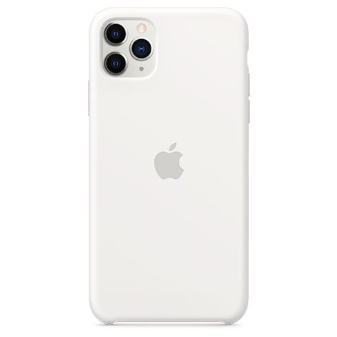 Apple iPhone 11 Pro Max Silicone Case, white MWYX2ZM/A