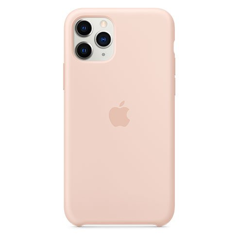 Apple iPhone 11 Pro Silicone Case, pink sand MWYM2ZM/A