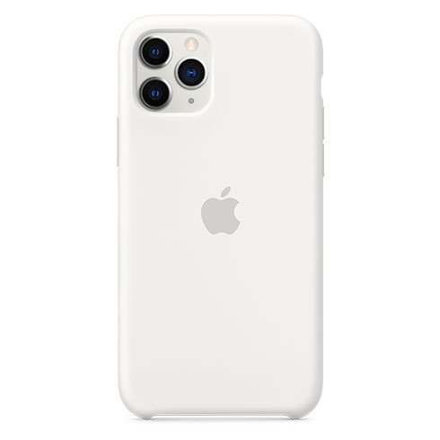 Apple iPhone 11 Pro Silicone Case, white MWYL2ZM/A