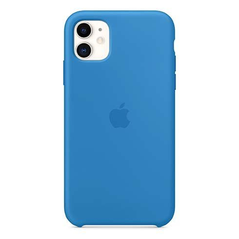 Apple iPhone 11 Silicone Case, surf blue MXYY2ZM/A