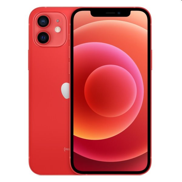 iPhone 12, 64GB, red MGJ73CN/A