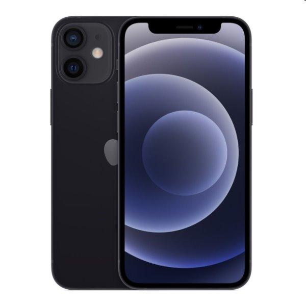 iPhone 12 mini, 64GB, black MGDX3CN/A