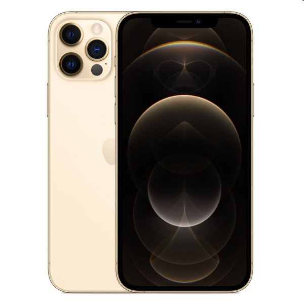 iPhone 12 Pro, 128GB, gold MGMM3CN/A