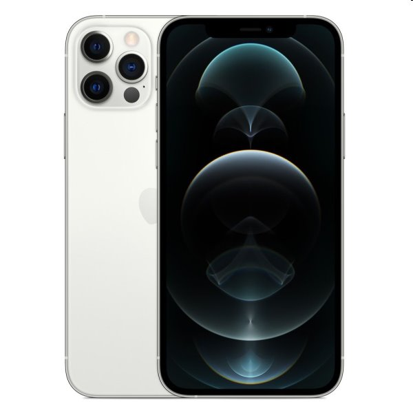 iPhone 12 Pro, 128GB, silver MGML3CN/A
