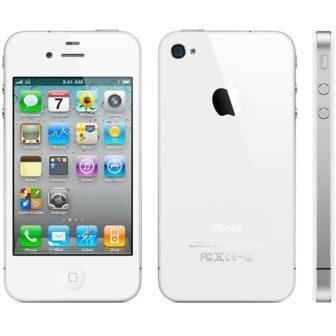 Apple iPhone 4, 8GB | White, Trieda B - použité, záruka 12 mesiacov