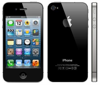 Apple iPhone 4S, 32GB, Black, trieda B- Použitý tovar, zmluvná záruka 12 mesiacov