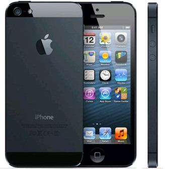 Apple iPhone 5, 16GB | Black, Trieda A - použité, záruka 12 mesiacov