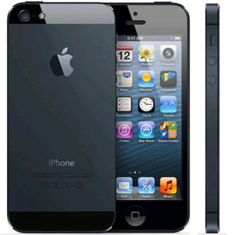 Apple iPhone 5, 16GB   NEFUNGUJE WIFI   Black, Trieda A - použité, záruka 12 mesiacov