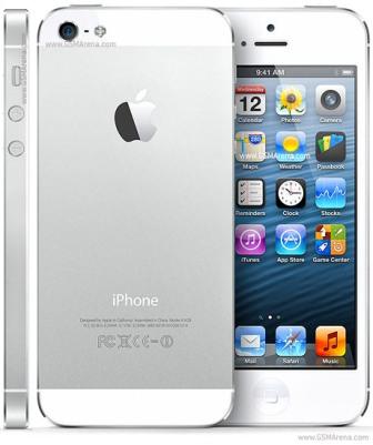 Apple iPhone 5, 32GB | NEFUNGUJE PREDNÁ KAMERA | White, Trieda C - použité, záruka 12 mesiacov