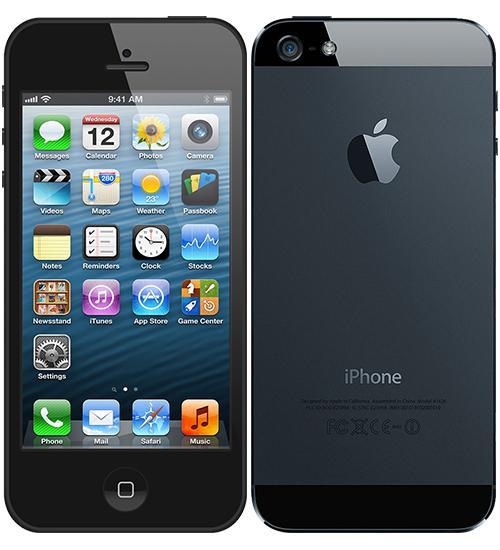 Apple iPhone 5, 64GB | Black, Trieda C - použité, záruka 12 mesiacov