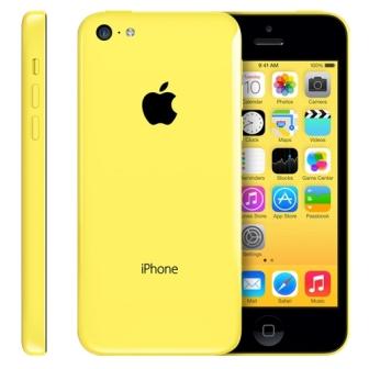 Apple iPhone 5C, 16GB | Yellow, Trieda A - použité, záruka 12 mesiacov