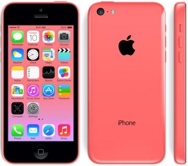 Apple iPhone 5C, 32GB | Pink, Trieda C - použité, záruka 12 mesiacov