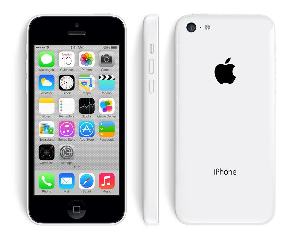 Apple iPhone 5C, 8GB | White, Trieda A - použité, záruka 12 mesiacov
