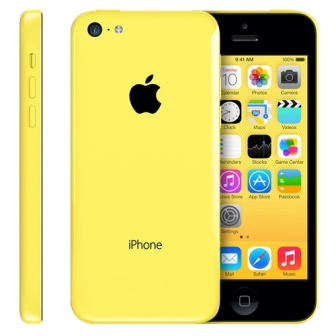 Apple iPhone 5C, 8GB | Yellow, Trieda C - použité, záruka 12 mesiacov