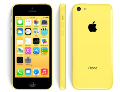 Apple iPhone 5C, 8GB   Yellow, Trieda C - použité, záruka 12 mesiacov