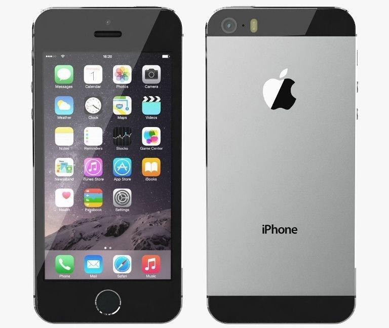 Apple iPhone 5S, 16GB | NEFUNGUJE TOUCH ID | Gray, Trieda C - použité, záruka 12 mesiacov