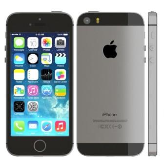 Apple iPhone 5S, 16GB | NEFUNGUJE WIFI | Gray, Trieda B - použité, záruka 12 mesiacov