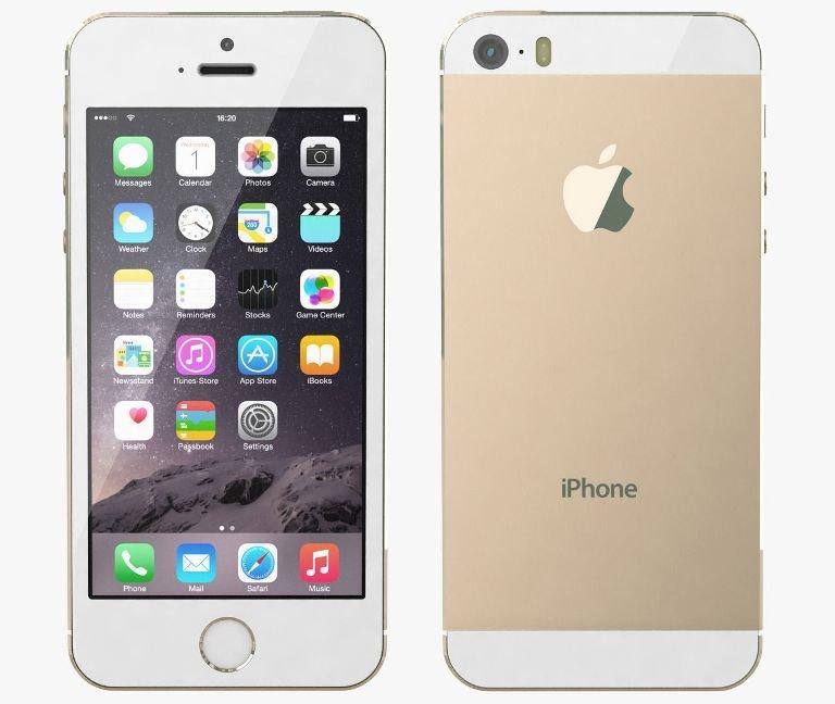 Apple iPhone 5S, 32GB   Gold, Trieda A - použité, záruka 12 mesiacov