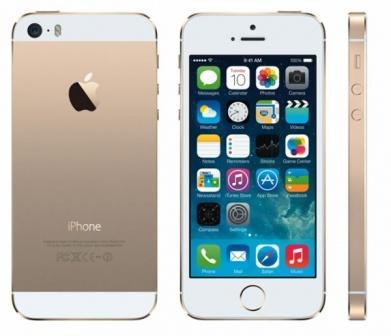 Apple iPhone 5S, 32GB | Gold, Trieda D - použité, záruka 12 mesiacov
