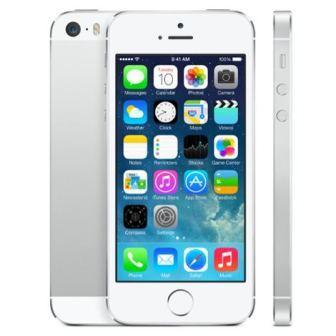 Apple iPhone 5S, 32GB | NEFUNGUJE TOUCH ID | Silver, Trieda B - použité, záruka 12 mesiacov