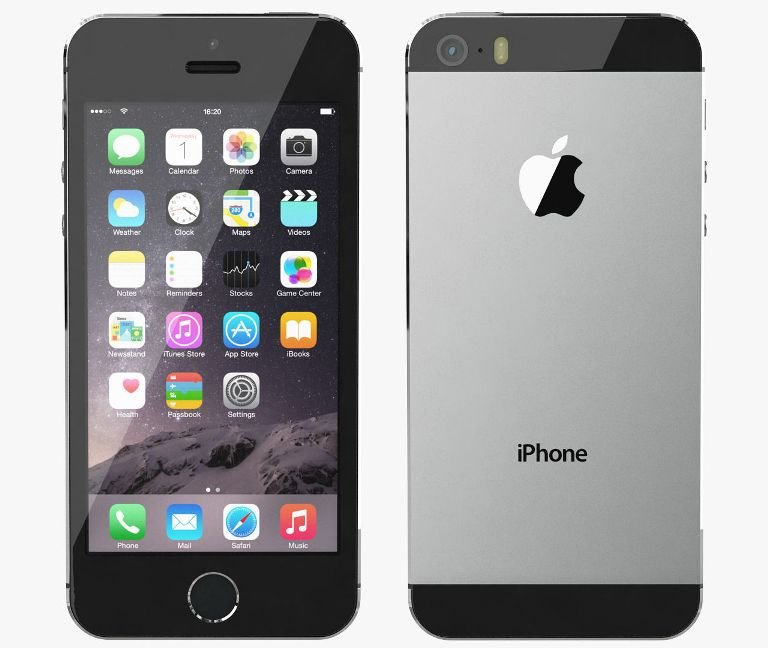 Apple iPhone 5S, 64GB   Gray, Trieda C - použité, záruka 12 mesiacov
