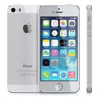 Apple iPhone 5S, 64GB   Silver, Trieda B - použité, záruka 12 mesiacov