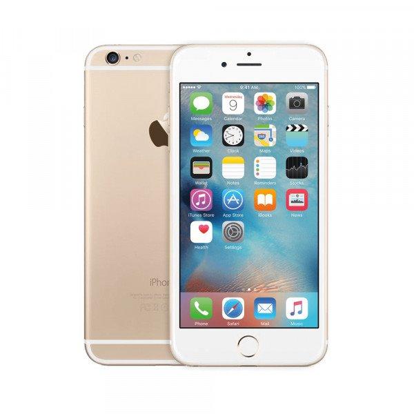 Apple iPhone 6, 64GB   Gold, Trieda C - použité, záruka 12 mesiacov