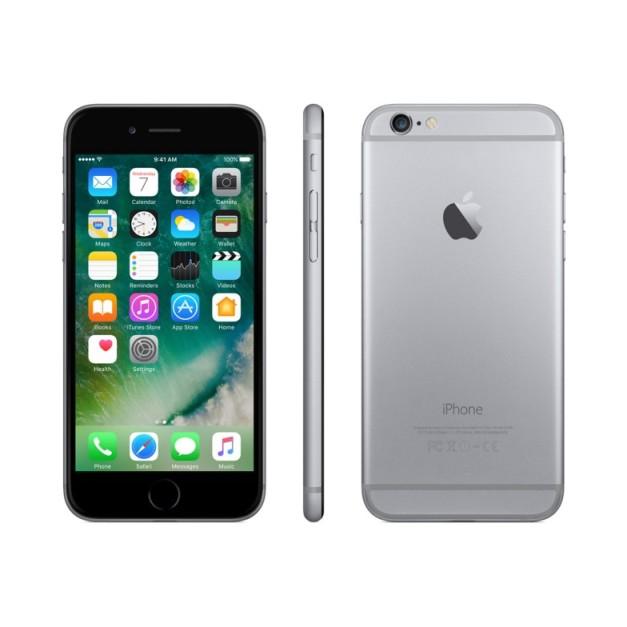 Apple iPhone 6, 64GB | Space Gray, Trieda C - použité, záruka 12 mesiacov