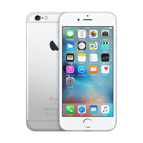 Apple iPhone 6S, 128GB   Silver, Trieda B - použité, záruka 12 mesiacov