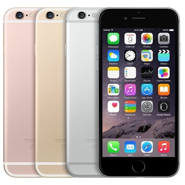 iPhone 6s Plus 128GB Gold MPAPIMKUF2