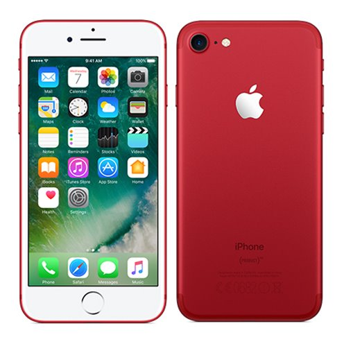 Apple iPhone 7, 128GB | Red, Trieda C - použité, záruka 12 mesiacov