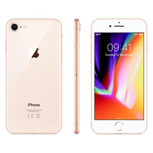 Apple iPhone 8, 64GB   Gold, Trieda C - použité, záruka 12 mesiacov
