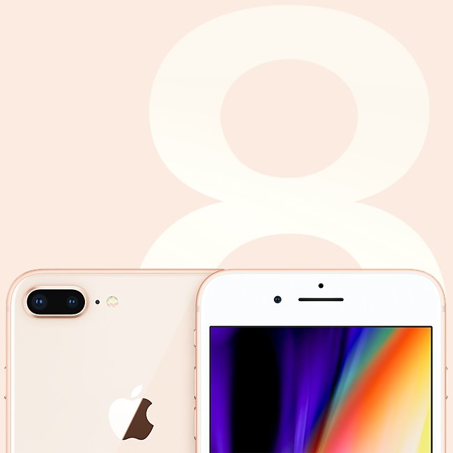 Apple iPhone 8 Plus 256GB Gold MQ8R2CN/A