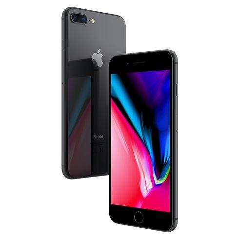 Apple iPhone 8 Plus, 64GB   Space Gray, Trieda B - použité, záruka 12 mesiacov