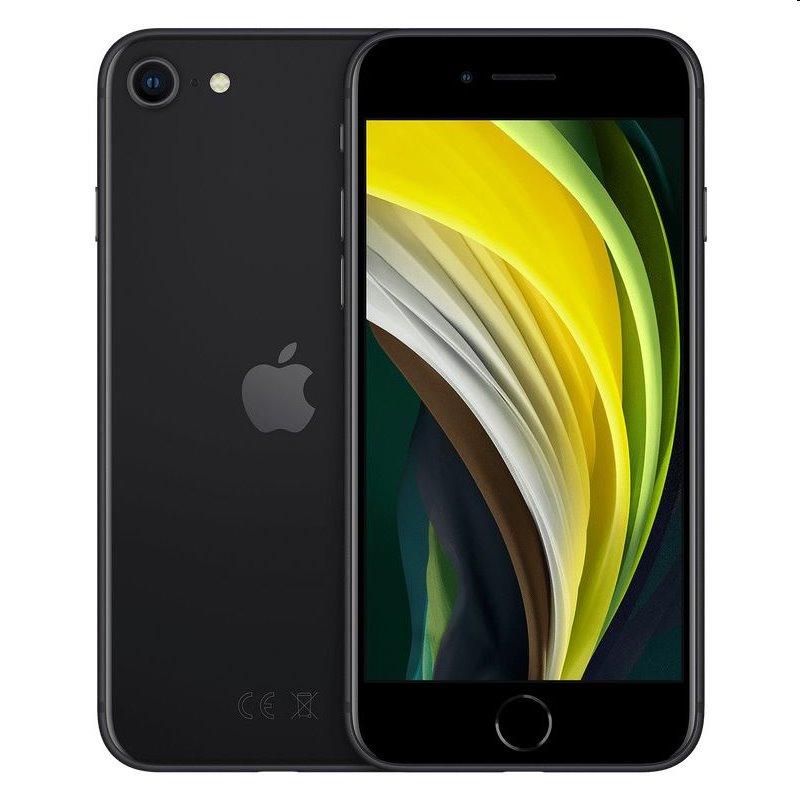 iPhone SE (2020), 128GB, black MHGT3CN/A