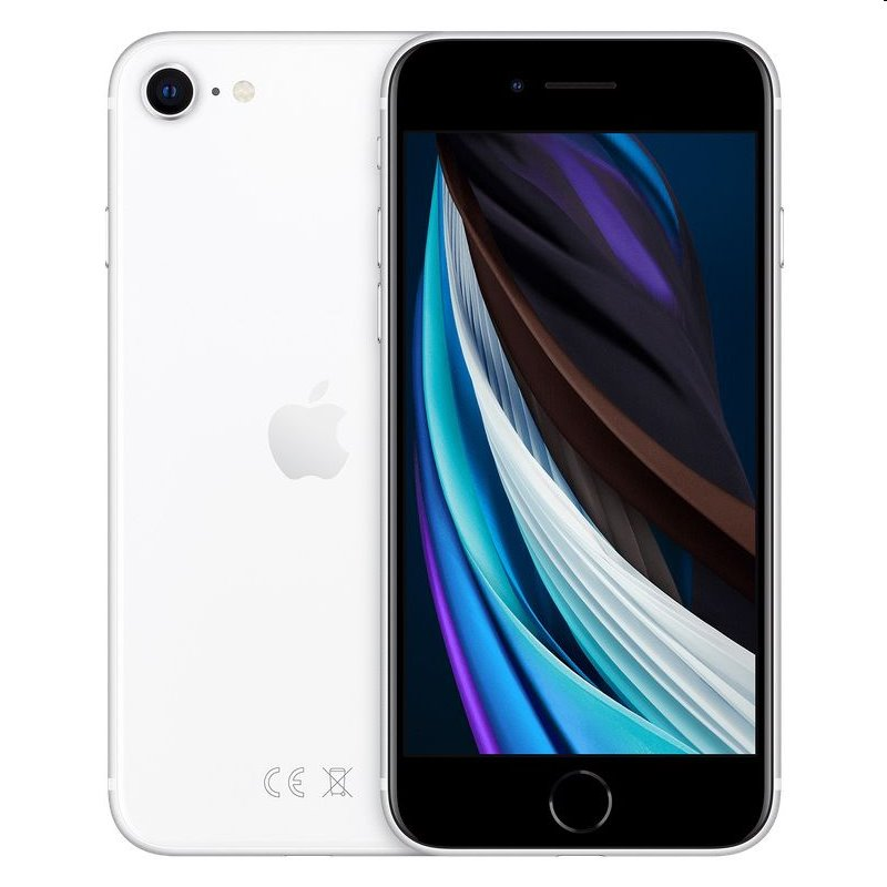 Apple iPhone SE (2020) 64GB, White , White, white