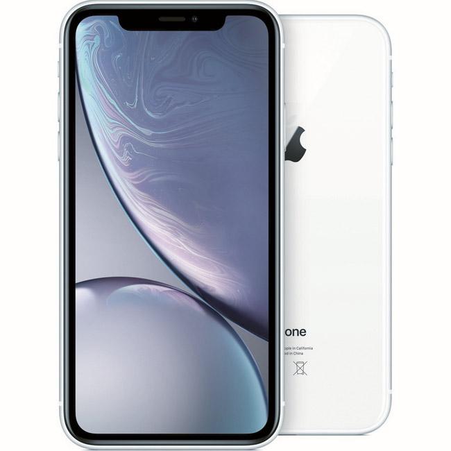 iPhone XR, 128GB, white