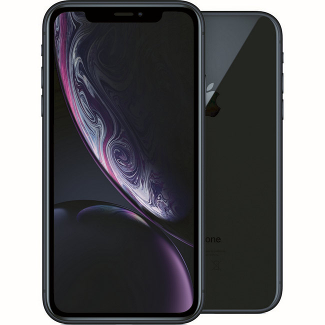 Apple iPhone Xr, 64GB | Black, Trieda A - použité, záruka 12 mesiacov
