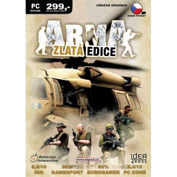 ArmA Zlatá Edícia CZ