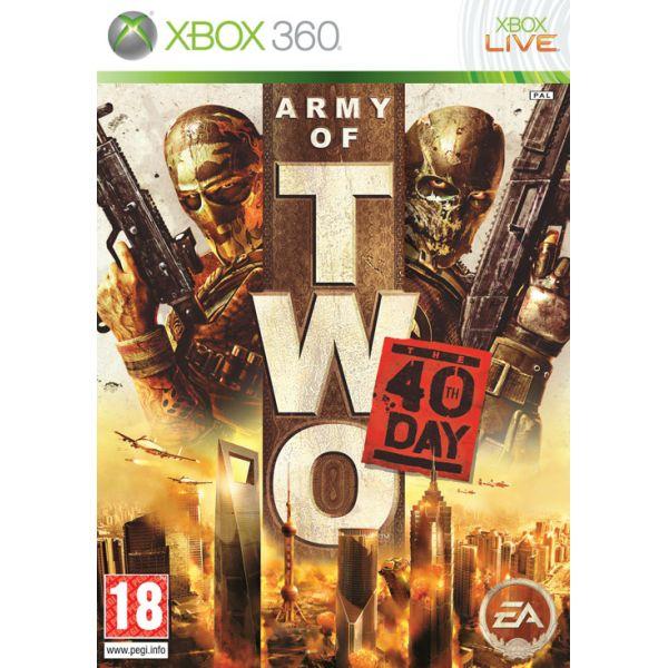 Army of Two: The 40th Day- XBOX 360- BAZÁR (použitý tovar)