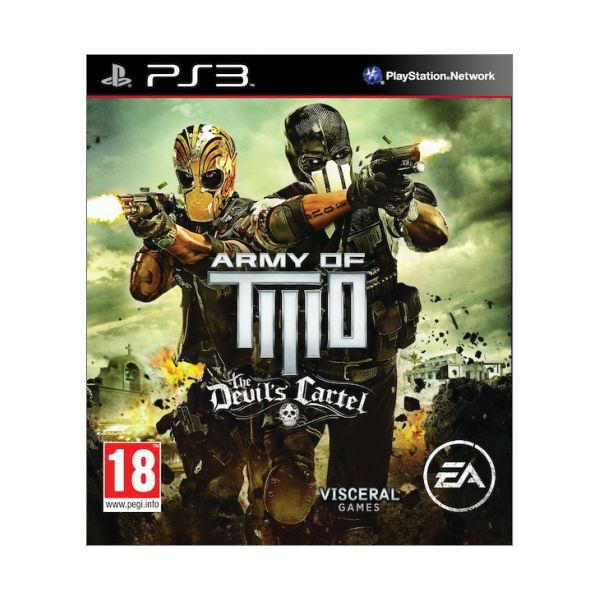 Army of Two: The Devil�s Cartel [PS3] - BAZ�R (pou�it� tovar)