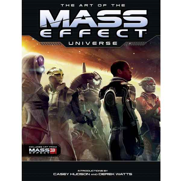 Art of The Mass Effect Universe sci-fi
