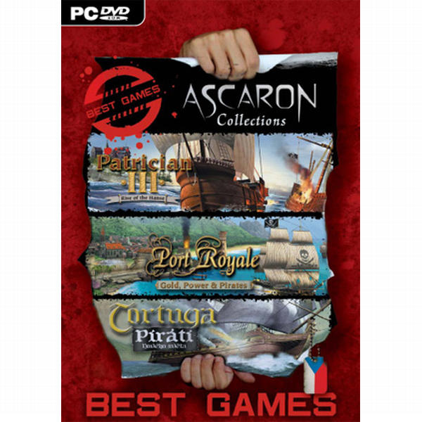 Ascaron Collection CZ (Best Games)
